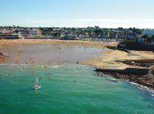 Campsite France Brittany, La plage
