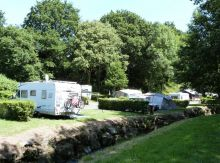 Camping Côtes d'Armor, Emplacement camping
